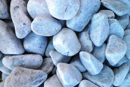 Tumble White   Pebbles for africa