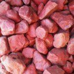 Red Jasper Dump-Thin Stripe | Pebbles for africa