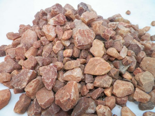 Multi Red Crush   Pebbles for africa